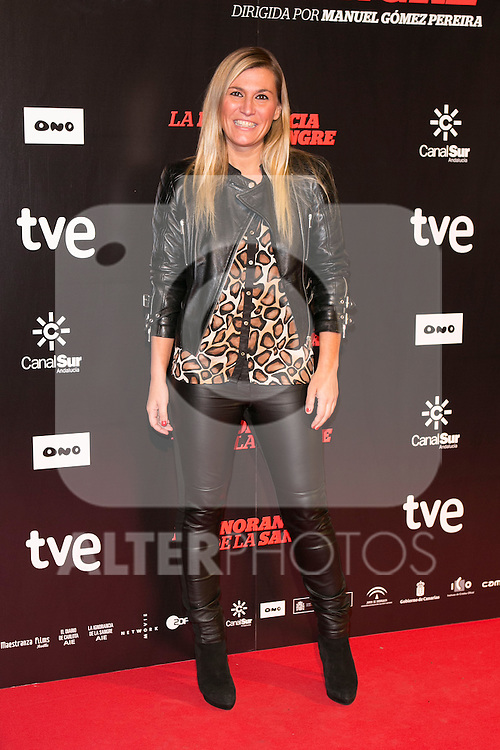 "Yolanda Jimenez attends ""La Ignorancia de la Sangre"" Premiere at Capitol Cinema in Madrid, Spain. November 13, 2014. (ALTERPHOTOS/Carlos Dafonte)"