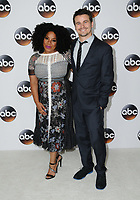 06 August  2017 - Beverly Hills, California - Kimberly Hebert Gregory, Jason Ritter.   2017 ABC Summer TCA Tour  held at The Beverly Hilton Hotel in Beverly Hills. <br /> CAP/ADM/BT<br /> &copy;BT/ADM/Capital Pictures