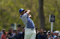 Jason Day (AUS) on the 12th tee during the 3rd round at the PGA Championship 2019, Beth Page Black, New York, USA. 18/05/2019.<br /> Picture Fran Caffrey / Golffile.ie<br /> <br /> All photo usage must carry mandatory copyright credit (© Golffile | Fran Caffrey)