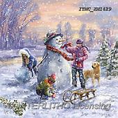 Marcello, CHRISTMAS SANTA, SNOWMAN, WEIHNACHTSMÄNNER, SCHNEEMÄNNER, PAPÁ NOEL, MUÑECOS DE NIEVE, paintings+++++,ITMCXM1429,#X#