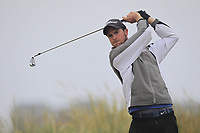 Keith Murphy (Dun Laoghaire) on the 1st tee during Round 1 - Matchplay of the North of Ireland Championship at Royal Portrush Golf Club, Portrush, Co. Antrim on Wednesday 11th July 2018.<br /> Picture:  Thos Caffrey / Golffile