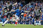 Dean Shiels scores the equaliser for Rangers