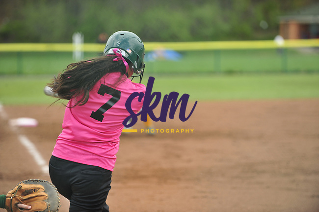 "Stevenson softball team hosted their annual Pink game to ""Strike Out Cancer"" as they took on McDaniel in a double header wt Weinberg-Fine Stadium in Owings Mills on Wednesday afternoon."