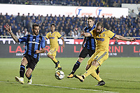 Bergamo 01-10-2017 Stadio Atleti Azzurri d'Italia Football Serie A 2017/2018 Atalanta - Juventus foto Daniele Buffa/Image Sport/Insidefoto <br /> nella foto: gol Gonzalo Higuain Juventus Goal celebration