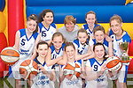. .CHAMPIONS: St. Joseph's Secondary School basketball team from Abbeyfeale who won the All Ireland A Schools First Years basketball tournament in Limerick at the weekend..Front L/r. Aisling Mangan (Duagh), Mariah Stack (Duagh), Sile Catriona O'Callaghan (Knocknagoshel)..Second row L/r. Saoirse Enright (Athea), Lee Ann Mangan (Knocknagoshel), Eilish Dillon (Duagh)..Back L/r. Laura Sheeran (Duagh), Nadine Smith (Abbeyfeale), Georgina Browne (Abbeyfeale) and Sorcha McNulty (Duagh).     Copyright Kerry's Eye 2008
