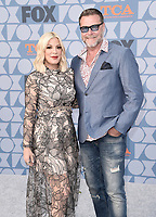 BEVERLY HILLS - AUGUST 7: Tori Spelling and Dean McDermott attend the FOX 2019 Summer TCA All-Star Party on New York Street on the FOX Studios lot on August 7, 2019 in Los Angeles, California. (Photo by Scott Kirkland/FOX/PictureGroup)