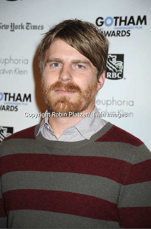 Evan Glodell attends IFP'S 21st Annual Gotham Independent Film Awards on November 28, 2011 at Cipriani Wall Street in New York City.