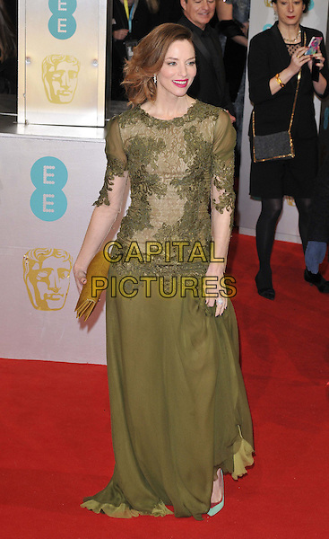 LONDON, ENGLAND - FEBRUARY 08: Sienna Guillory attends the EE British Academy Film Awards 2015, Royal Opera House, Covent Garden, on Sunday February 08, 2015 in London, England, UK. <br /> CAP/CAN<br /> &copy;Can Nguyen/Capital Pictures