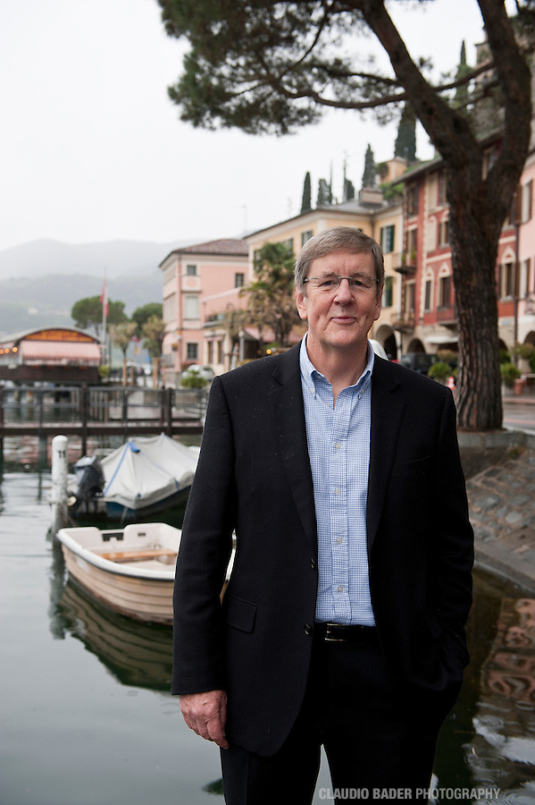 Chris Corrigan, Australian Financial Review, Switzerland, Morcote, 2012.04.18