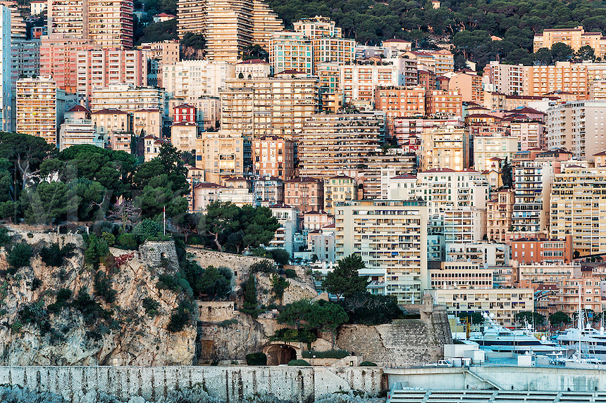 View of downtown Monte Carlo, Monaco