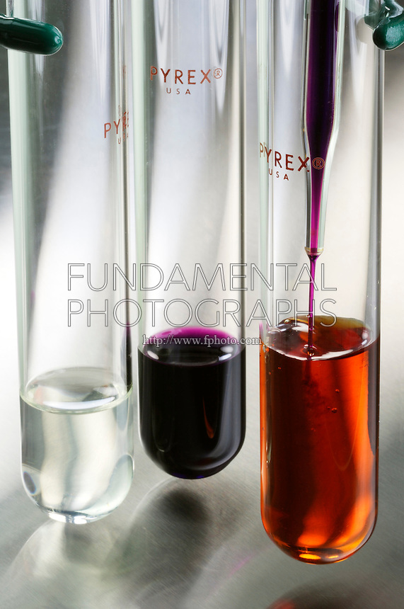 REDUCTION OF PURPLE MnO4 - ION TO Mn2+ ION<br />