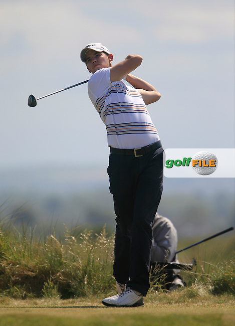 Brian Casey (Headfort)<br /> during the 4th round of the East of Ireland Amateur Open Championship 2013 Co Louth Golf club 3/6/13<br /> Picture:  Thos Caffrey / www.golffile.ie
