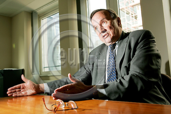 BRUSSELS - BELGIUM - 03 MAY 2004--Jorma PIHLATIE, Head of Unit, Competition Directorate-General (DG), European Commission.-- PHOTO: JUHA ROININEN / EUP-IMAGES
