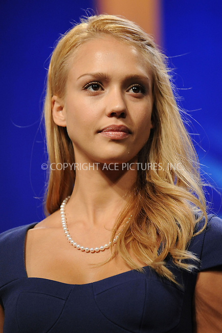 WWW.ACEPIXS.COM . . . . . ....September 24 2009, New York City....Actress Jessica Alba at the Clinton Global Initiative on September 24 2009 in New York City....Please byline: KRISTIN CALLAHAN - ACEPIXS.COM.. . . . . . ..Ace Pictures, Inc:  ..tel: (212) 243 8787 or (646) 769 0430..e-mail: info@acepixs.com..web: http://www.acepixs.com