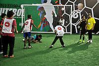 SAO PAULO, SP, 12 DE JULHO 2012 – Abertura do Brazil Sports Show na Bienal do Ibirapuera. O evento, que ja esta em sua segunda edicao, conta com mais de onze feiras tematicas em mais de vinte mil metros quadrados de espaco. E a maior feira da categoria no pais e atrai gente de todo o Brasil para prestigiar os workshops, e aproveitar. Somente hoje, a entrada e gratuita, ate o dia 15, paga-se 20,00 para o acesso. (FOTO: THAIS RIBEIRO / BRAZIL PHOTO PRESS).