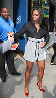 NEW YORK, NY - SEPTEMBER 11: 2017 US Open Women's Tennis Champ, Sloane Stephens, seen at Good Morning America in New York City on September 11, 2017. <br /> CAP/MPI/RW<br /> &copy;RW/MPI/Capital Pictures