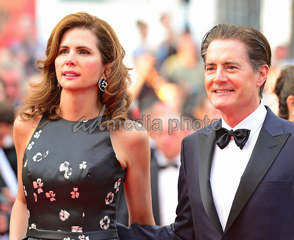 "25 May 2017 - Cannes, France - Kyle MacLachlan, Desiree Gruber. ""Twin Peaks"" Premiere - The 70th Annual Cannes Film Festival. Photo Credit: Jan Sauerwein/face to face/AdMedia"