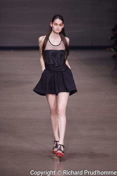 Melissa Nepton launches her Spring-Summer 2014 collection during Montreal Fashion Week
