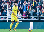 AAA during the La Liga 2017-18 match between Valencia CF and Villarreal CF at Estadio de Mestalla on 23 December 2017 in Valencia, Spain. Photo by Maria Jose Segovia Carmona / Power Sport Images