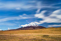 Cotopaxi Volcano 5,897m summit, Cotopaxi National Park, Cotopaxi Province, Ecuador