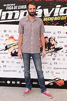 24.07.2012. Presentation at the Madrid Film Academy of the movie 'Impavido&acute;, directed by Carlos Theron and starring by Marta Torne, Selu Nieto, Nacho Vidal, Carolina Bona, Julian Villagran and Manolo Solo. In the image Julian Villagran (Alterphotos/Marta Gonzalez) /NortePhoto.com*<br />