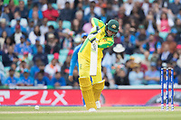 Usman Khawaja (Australia) drives on the walk for a single during India vs Australia, ICC World Cup Cricket at The Oval on 9th June 2019