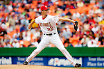 15 May 2005: John Patterson, pitcher for the Washington Nationals, on the mound against the Chicago Cubs, as the Nationals defeat the visiting Cubs 5-4, to take the 3-game series three games to two, at RFK Stadium in Washington, DC.  Mandatory Photo Credit: Ed Wolfstein