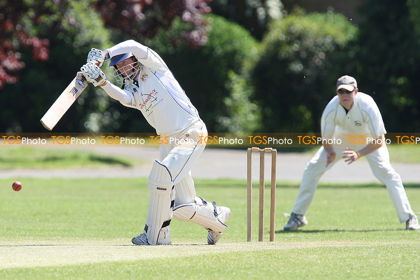 L Porter in batting action for Hornchurch Athletic - Hornchurch Athletic CC vs Goresbrook CC - Lords International Essex League at Hylands Park - 22/05/10 - MANDATORY CREDIT: Gavin Ellis/TGSPHOTO - Self billing applies where appropriate - Tel: 0845 094 6026