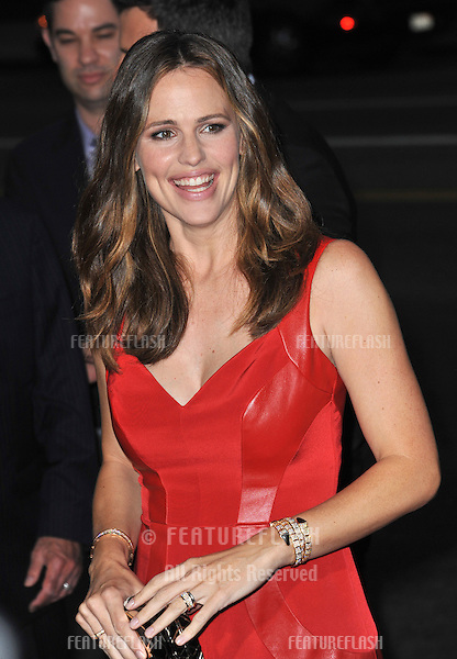 "Jennifer Garner at the Los Angeles premiere of ""Argo"" at the Samuel Goldwyn Theatre, Beverly Hills..October 4, 2012  Beverly Hills, CA.Picture: Paul Smith / Featureflash"