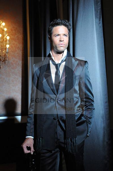 Angelico, musician and actor, recording a videoclip. Porto 7 de Maio 2009