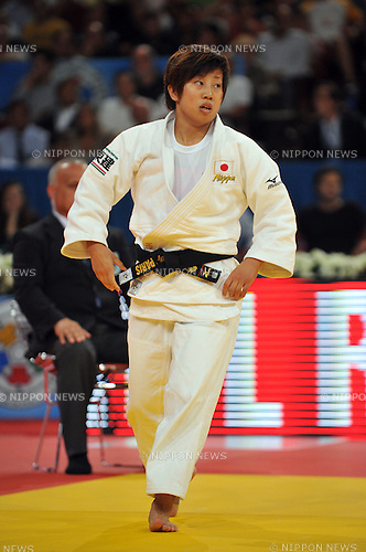 Yuka Nishida (JPN), AUGUST 24, 2011 - Judo : World Judo Championships Paris 2011, Women's -52kg class at Palais Omnisport de Paris-Bercy, Paris, France. (Photo by Atsushi Tomura/AFLO SPORT) [1035]