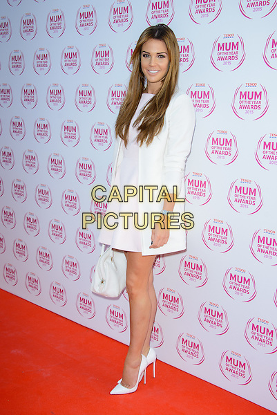 LONDON, ENGLAND - MARCH 01: Danielle Lloyd attends the Tesco Mum Of The Year Awards 2015 at the Savoy Hotel, on March 01, 2015 in London, England. <br /> CAP/JC<br /> &copy;JC/Capital Pictures
