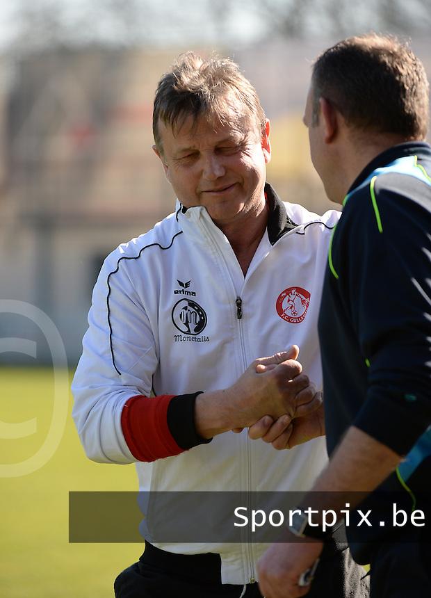 FC Gullegem :  Dirk Azou<br /> foto VDB / BART VANDENBROUCKE