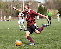 The Winthrop University Eagles played the UNC Wilmington Seahawks in The Manchester Cup on April 5, 2014.  The Seahawks won 1-0.  Patrick Barnes (11)