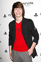 LOS ANGELES - FEB 15:  Evan Hofer at the Sony PlayStationAE Unveils PS VITA Portable Entertainment System at the Siren Studios on February 15, 2012 in Los Angeles, CA