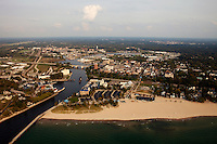 aerial photograph St. Joseph, Michigan