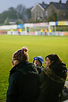 A young Pickering fan. Stocksbridge Park Steels v Pickering Town,  Evo-Stik East Division, 17th November 2018. Stocksbridge Park Steels were born from the works team of the local British Steel plant that dominates the town north of Sheffield.<br />