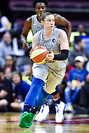 Washington, DC - May 27, 2018: in action during game between the Mystics and Lynx at the Capital One Arena in Washington, DC. (Photo by Phil Peters/Media Images International)