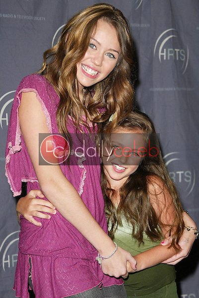 Miley Cyrus and Ryan Newman<br />