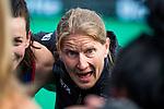 ROTTERDAM -  Janneke Schopman (USA)   tijdens de Pro League hockeywedstrijd dames, Netherlands v USA (7-1)  .  COPYRIGHT  KOEN SUYK