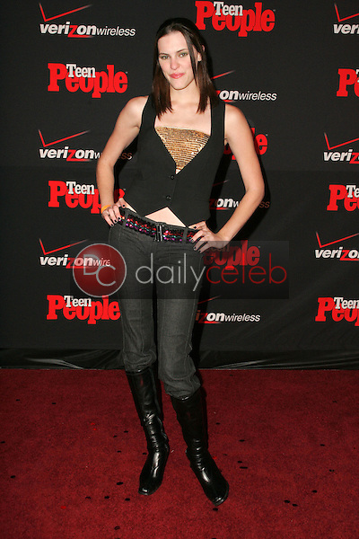 Michelle Deighton<br /> at the Teen People's 4th Annual Artists of the Year Party, Element, Hollywood, CA 11-22-05<br /> David Edwards/DailyCeleb.Com 818-249-4998
