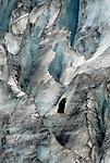 Eagle in front of glacier / Kenai Fjords Tour out of Seward Alaska.  Day 3.  Bob Gathany photo.