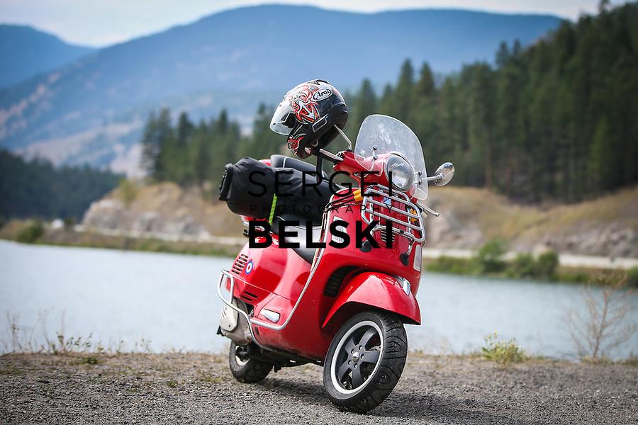 My Vespa Adventures Canadian West. Photo Credit: Sergei Belski