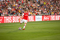 Commerce City, CO - Monday, July 15, 2019: Arsenal midfielder Robbie Burton (41) passes the ball. The Colorado Rapids fall to Arsenal FC by a score of 3-0 during a international exhibit game at Dick's Sporting Goods Park (DSGP).