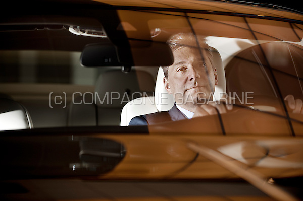 Stéphane Sertang, CEO of the Ginion automobile group (Belgium, 04/11/2014)