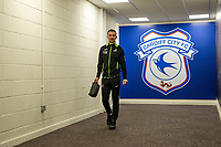 Bersant Celina of Swansea City arrives for the Sky Bet Championship match between Cardiff City and Swansea City at the Cardiff City Stadium in Swansea, Wales, UK.  Sunday 12 January 2019