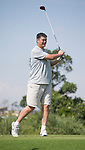 Yao Ming plays during the World Celebrity Pro-Am 2016 Mission Hills China Golf Tournament on 22 October 2016, in Haikou, China. Photo by Victor Fraile / Power Sport Images