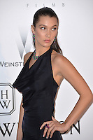 Model Bella Hadid at the amfAR Cinema Against AIDS Gala 2016 at the Hotel du Cap d'Antibes.<br /> May 19, 2016  Antibes, France<br /> Picture: Paul Smith / Featureflash