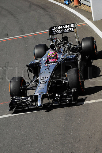 05.07.2014. Silversone, Northants, England. British F1 Grand Prix, Qualifying session.  Jenson Button, McLaren Mercedes,