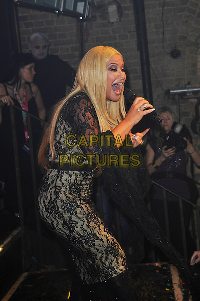 LONDON, ENGLAND - OCTOBER 31: Anastacia (Anastacia Lyn Newkirk) performing at G-A-Y, Heaven Night Club on October 31, 2015 in London, England.<br /> CAP/MAR<br /> &copy; Martin Harris/Capital Pictures